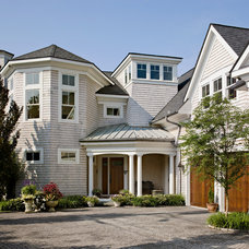 Beach Style Exterior by Nelson Edwards Company Architects, LLC