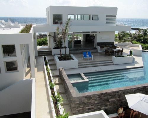 Beach house decks houzz for Beach house deck ideas