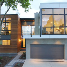 contemporary exterior by InHaus Development Ltd
