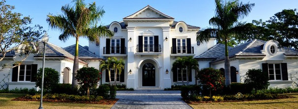 Traditional Exterior by Architectural Studio, Inc.