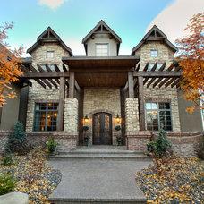 Traditional Exterior by Veranda Estate Homes & Interiors