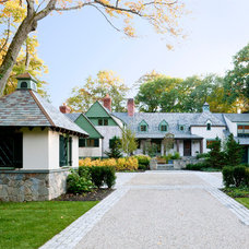 Traditional Exterior by The Remodeling Company