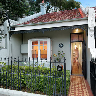 Inspiration for a victorian one-storey exterior in Sydney.