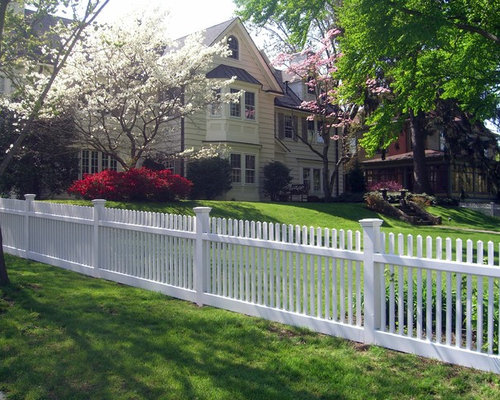 Wood Fence Ideas Front Yard House