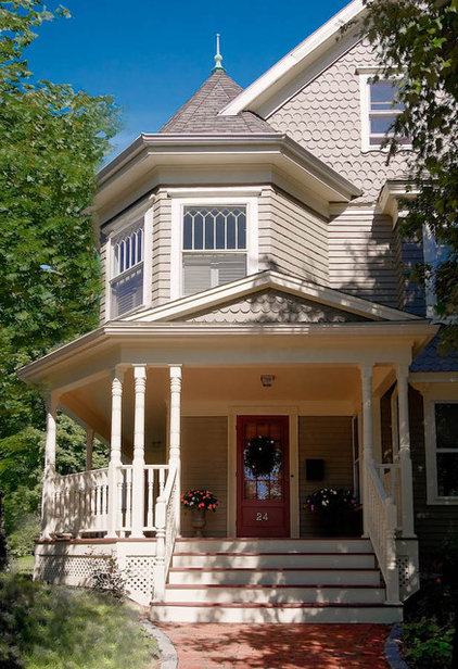 Traditional Exterior by Mitchell Construction Group