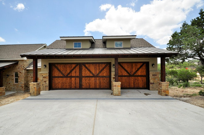 Traditional Exterior by Capstone Custom Homes
