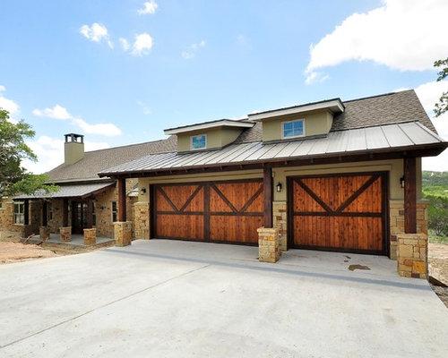 Southwestern austin exterior home design ideas remodels for Capstone exterior design firm