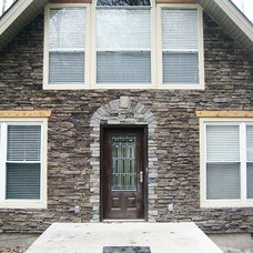 Eclectic Exterior by Stratton Exteriors