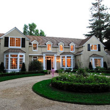 Traditional Exterior by Brian David Peters AIA