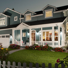 Traditional Exterior by Timeline Design
