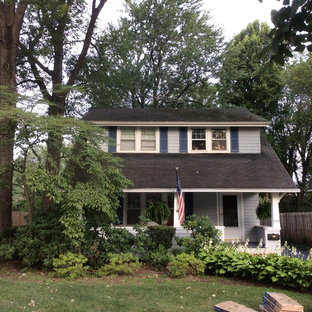 Example of a classic exterior home design in Cleveland