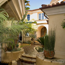 Mediterranean Exterior by James Glover Residential & Interior Design