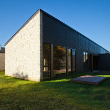Modern Exterior by Camery Hensley Construction, Ltd