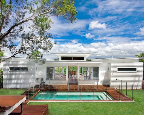 Weatherboard house houzz for Weatherboard house designs