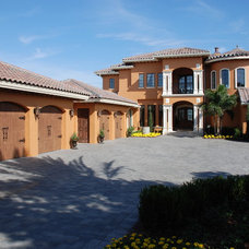 Mediterranean Exterior by Hyatt Design, Inc.