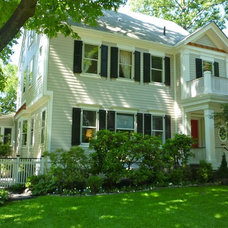 Traditional Exterior by GreenRose Enterprises