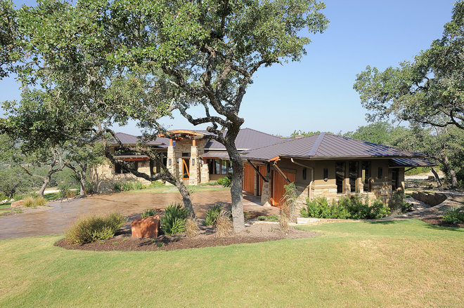 Contemporary Exterior by Design Visions of Austin