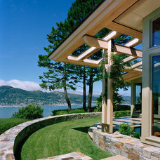 Contemporary Exterior by C Wright Design
