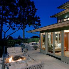 Contemporary Exterior by C Wright Design