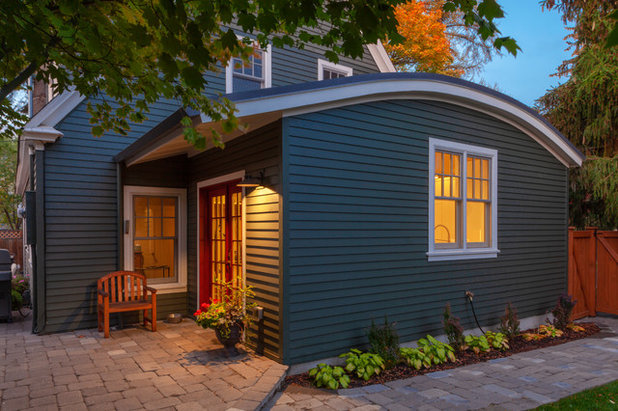 Scandinavian Exterior by Karen Smuland Architect, LLC
