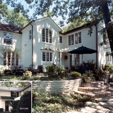 Traditional Exterior by Benvenuti and Stein