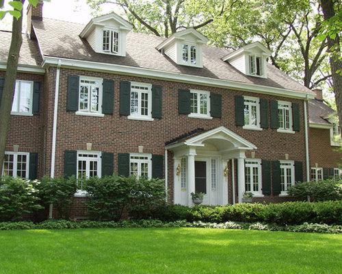 Colonial Casement Window Home Design Ideas Pictures