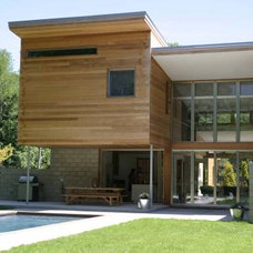 Modern Exterior by BergDesign Architects