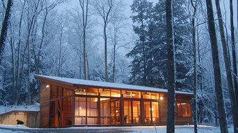 Berkshire Cabin Exterior