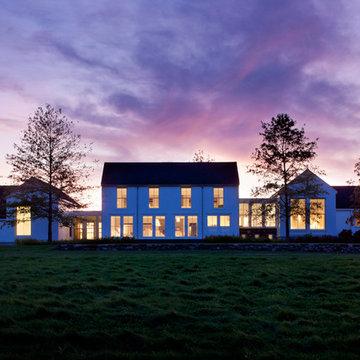 Berkshire Farmhouse- Rear Exterior