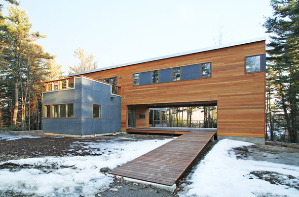 Contemporary Exterior by Resolution: 4 Architecture