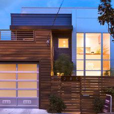 Contemporary Exterior by Studio S Squared Architecture, Inc.