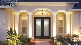 Berringer 3D Glass Front Doors - Exterior Glass Doors - Glass Entry Doors