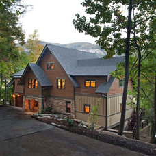 Craftsman Exterior by Living Stone Construction, Inc.