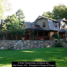 Traditional Exterior by John Toates Architecture and Design