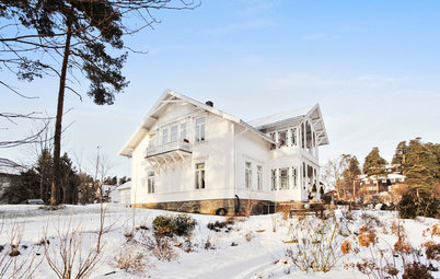 Houzz Tour: Updated Elegance for a 200-Year-Old Norwegian Mansion