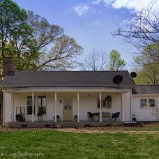 Farmhouse Exterior by Dunn Development, Inc.