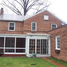 Traditional Exterior by NJW Construction