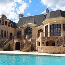 Mediterranean Exterior by Bieber Architectural Windows and Doors