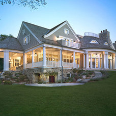 Traditional Exterior by Wade Weissmann Architecture