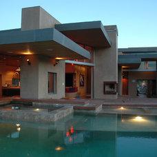 Modern Exterior by Jay Vanos Architects