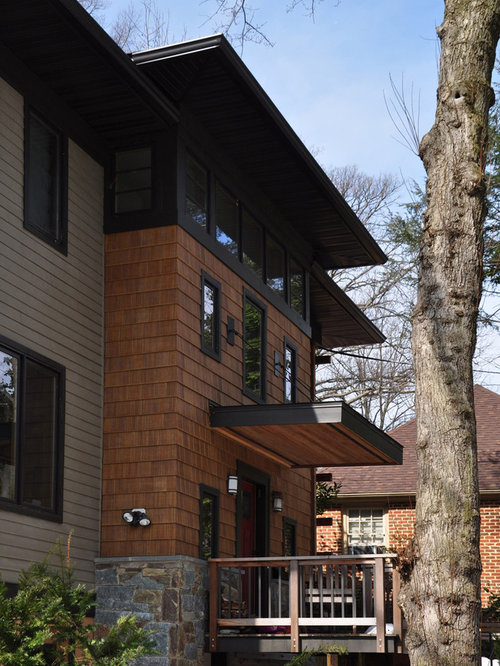 Cedar shake siding home design ideas pictures remodel for Siding that looks like wood shingles