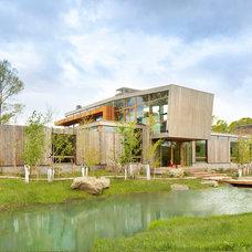 Contemporary Exterior by hughesumbanhowar architects
