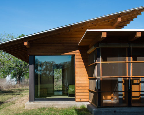 Large roof eave overhang home design ideas pictures remodel and decor - Houses overhang practical design ...