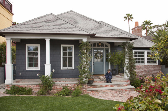 Traditional Exterior by Doug Simon ARCHITECTURE
