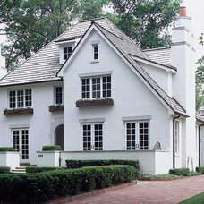 Traditional Exterior by Mettler Interiors