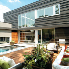 Modern Exterior by Taylor Smyth Architects