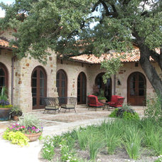 Mediterranean Exterior by Braswell Architecture, Inc.