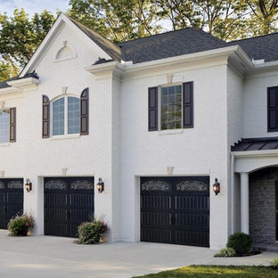 Black Garage Doors Exterior Ideas Photos Houzz