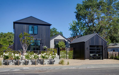 Houzz Tour: A Noir Farmhouse in Napa