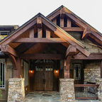 The Lujack Plan 1043 Craftsman Exterior Charlotte